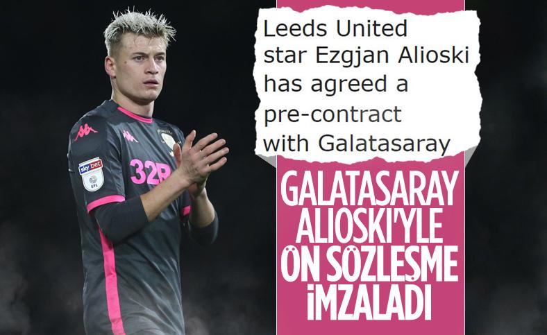 Galatasaray, Ezgjan Alioski'yi transfer ediyor