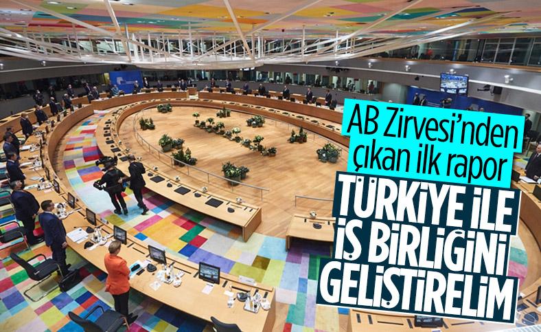 AB Liderler Zirvesi'nden 'Türkiye' mesajı