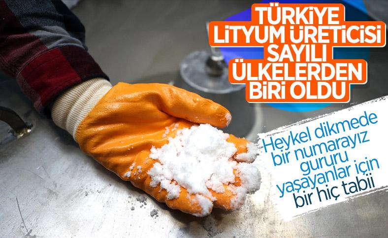 Fatih Dönmez: Türkiye kendi lityumunu üretmeye başladı