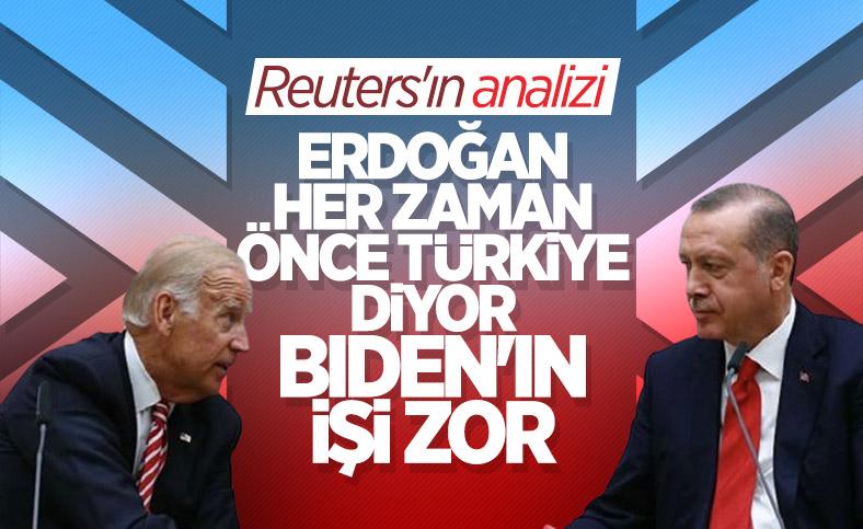 Reuters'tan kapsamlı Erdoğan ve Biden analizi