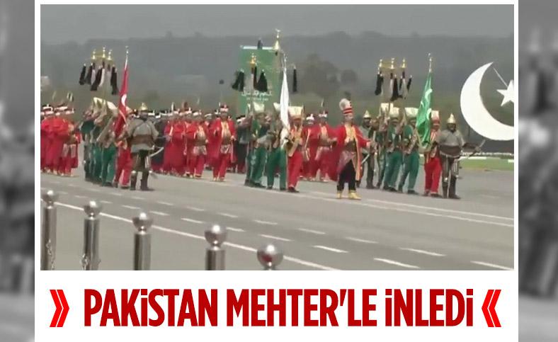Pakistan Milli Günü'nde Mehteran Birliği sahne aldı