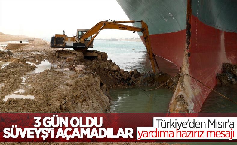 Türkiye'den Süveyş Kanalı'ndaki kazaya ilişkin yardım teklifi