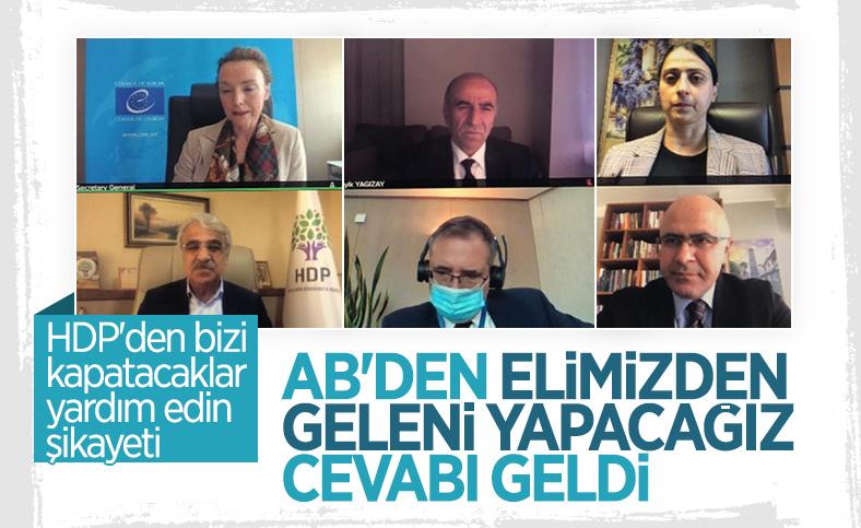 HDP, Avrupa Konseyi'ne Türkiye'yi şikayet etti