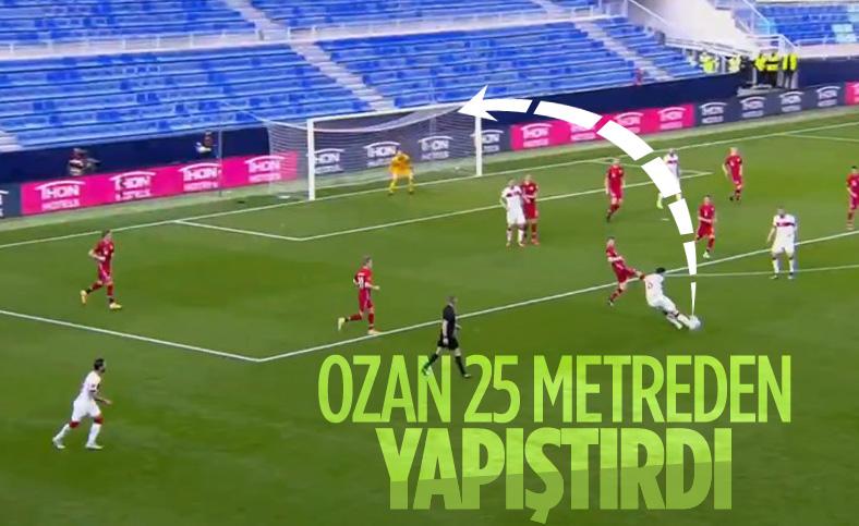Ozan Tufan'dan Norveç'e harika gol