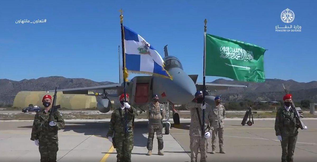Suudi Arabistan ile Yunanistan'dan ortak tatbikat