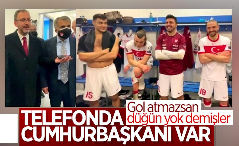 Cumhurbaşkanı Erdoğan, Norveç'i yenen A Milli Takım'ı kutladı