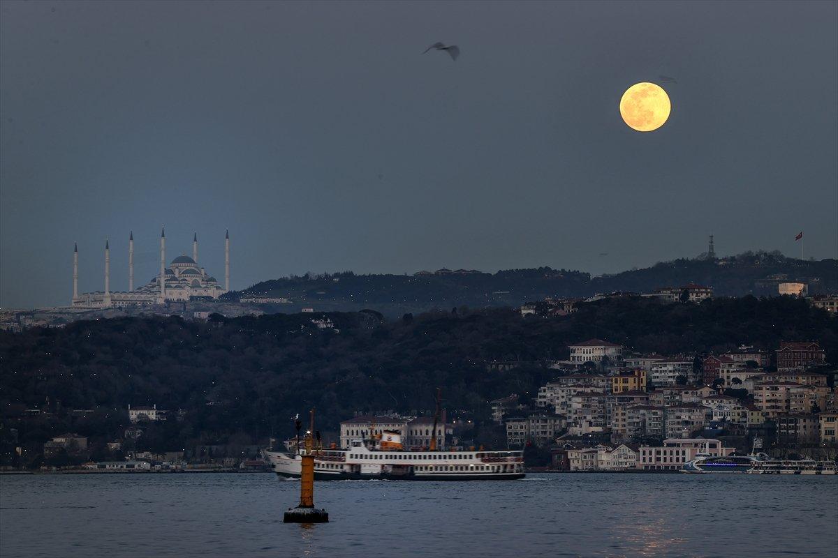 İstanbul da dolunay #5