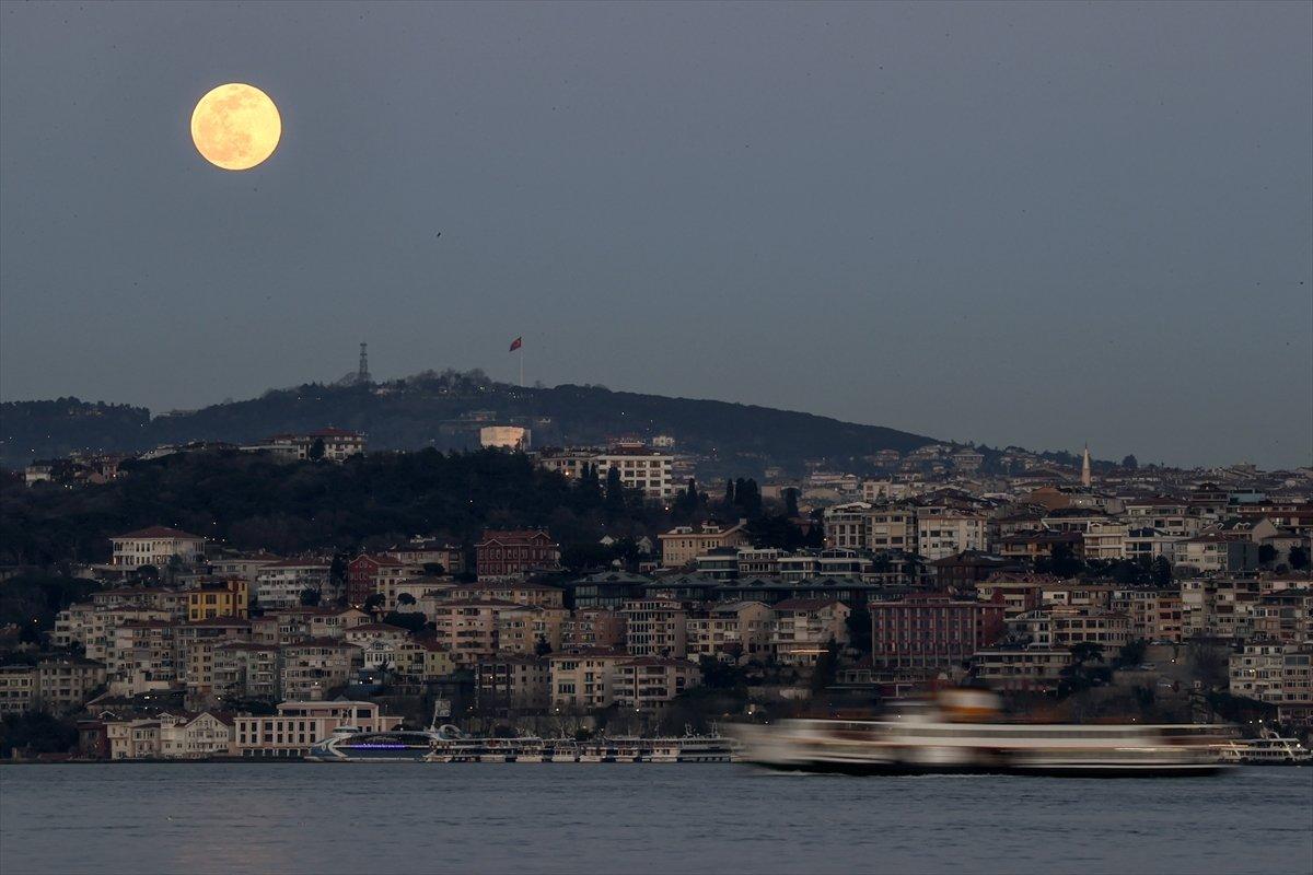 İstanbul da dolunay #4