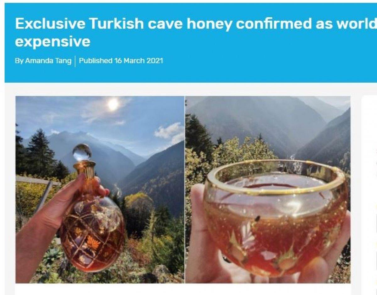 Türk balı, Guinness Rekorlar Kitabı nda #1