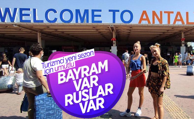 Antalya'da sezonu Ruslar açacak