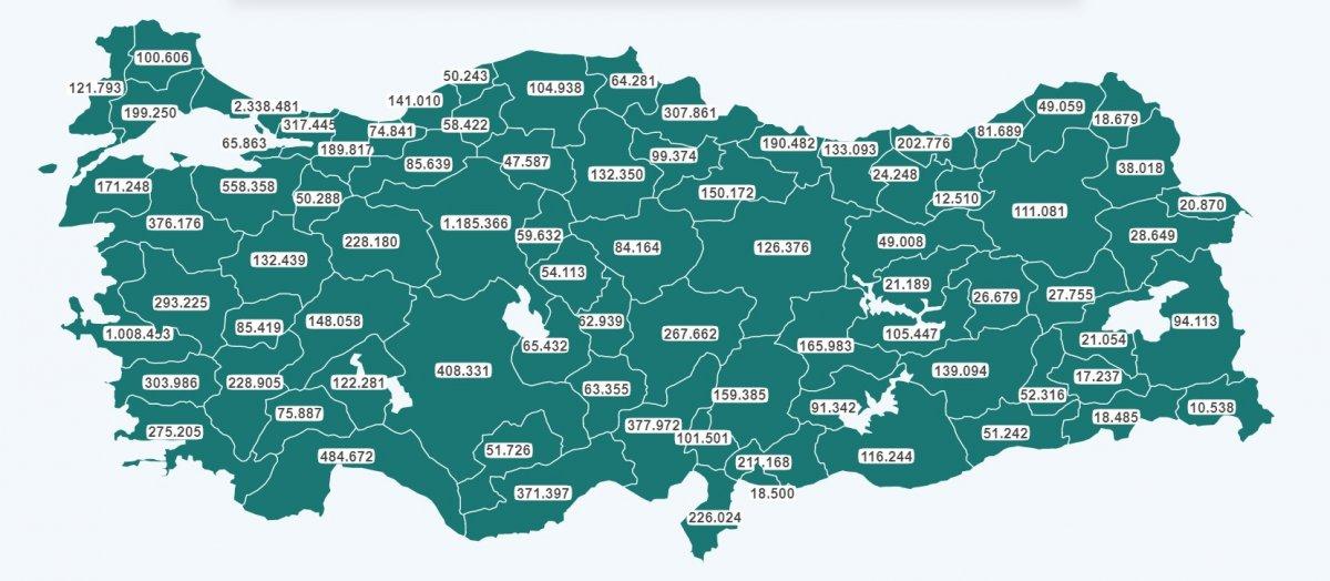 Türkiye de aşı uygulamasında 15 milyon doz geçildi #1