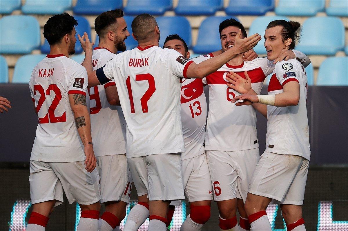 Türkiye-Letonya maçının muhtemel 11 leri #1