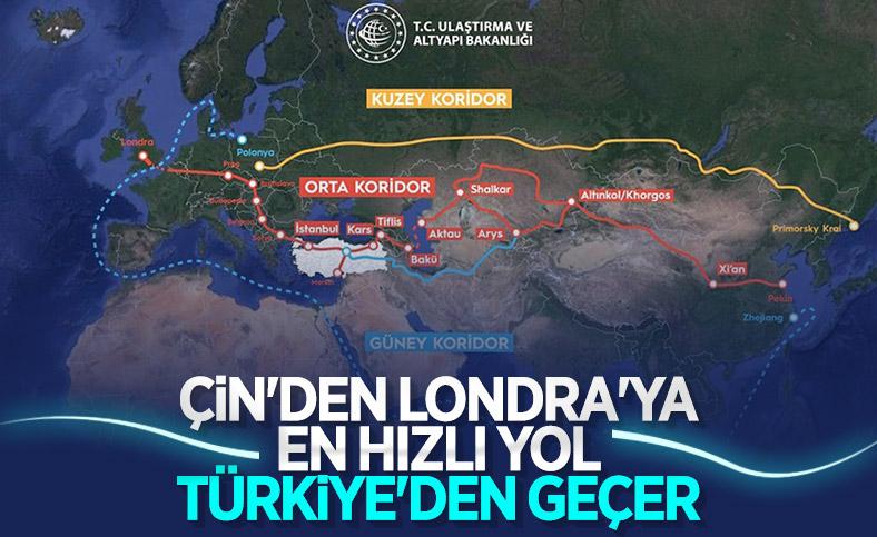Türkiye Orta Koridor'da kilit ülke haline geldi