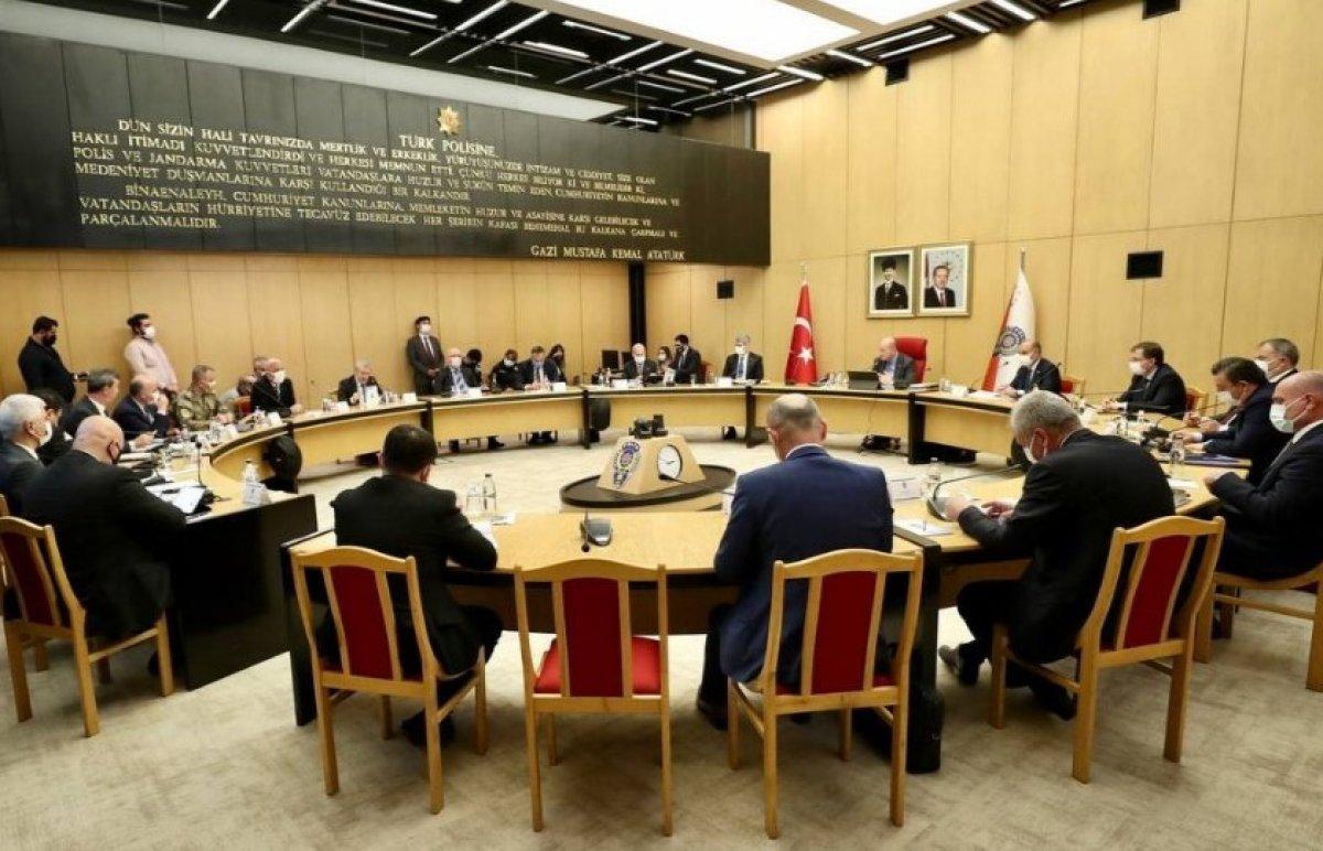 Süleyman Soylu, 81 ilin emniyet müdürleriyle bir araya geldi #1