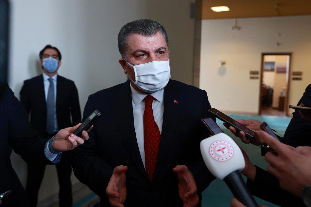 Sağlık Bakanı Koca: Kendimizi koruyup aşı sıramızı bekleyelim #2