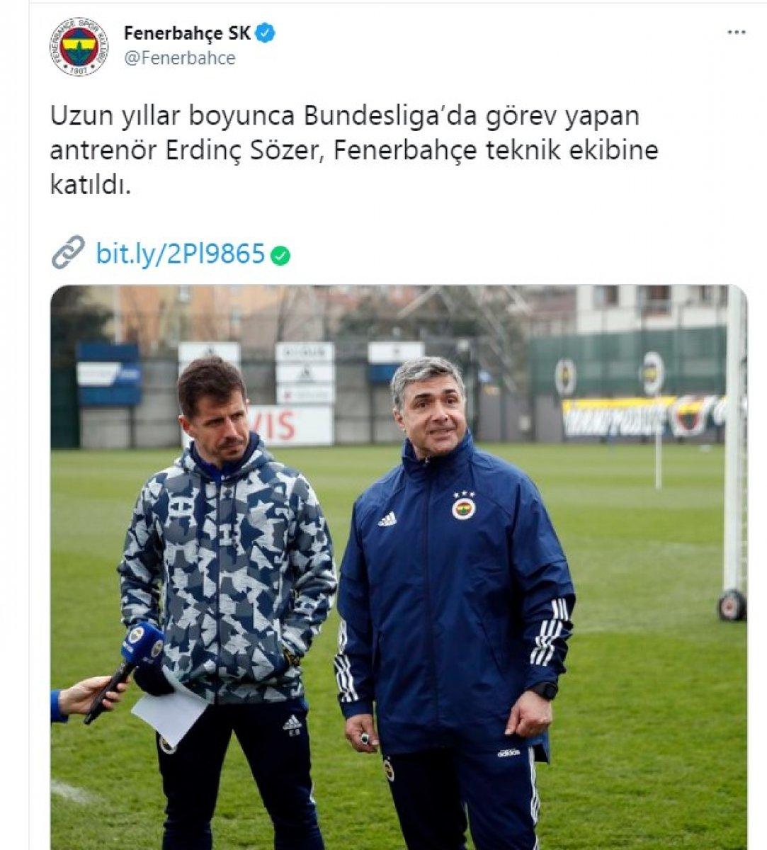 Emre Belözoğlu nun yardımcısı Erdinç Sözer oldu #2