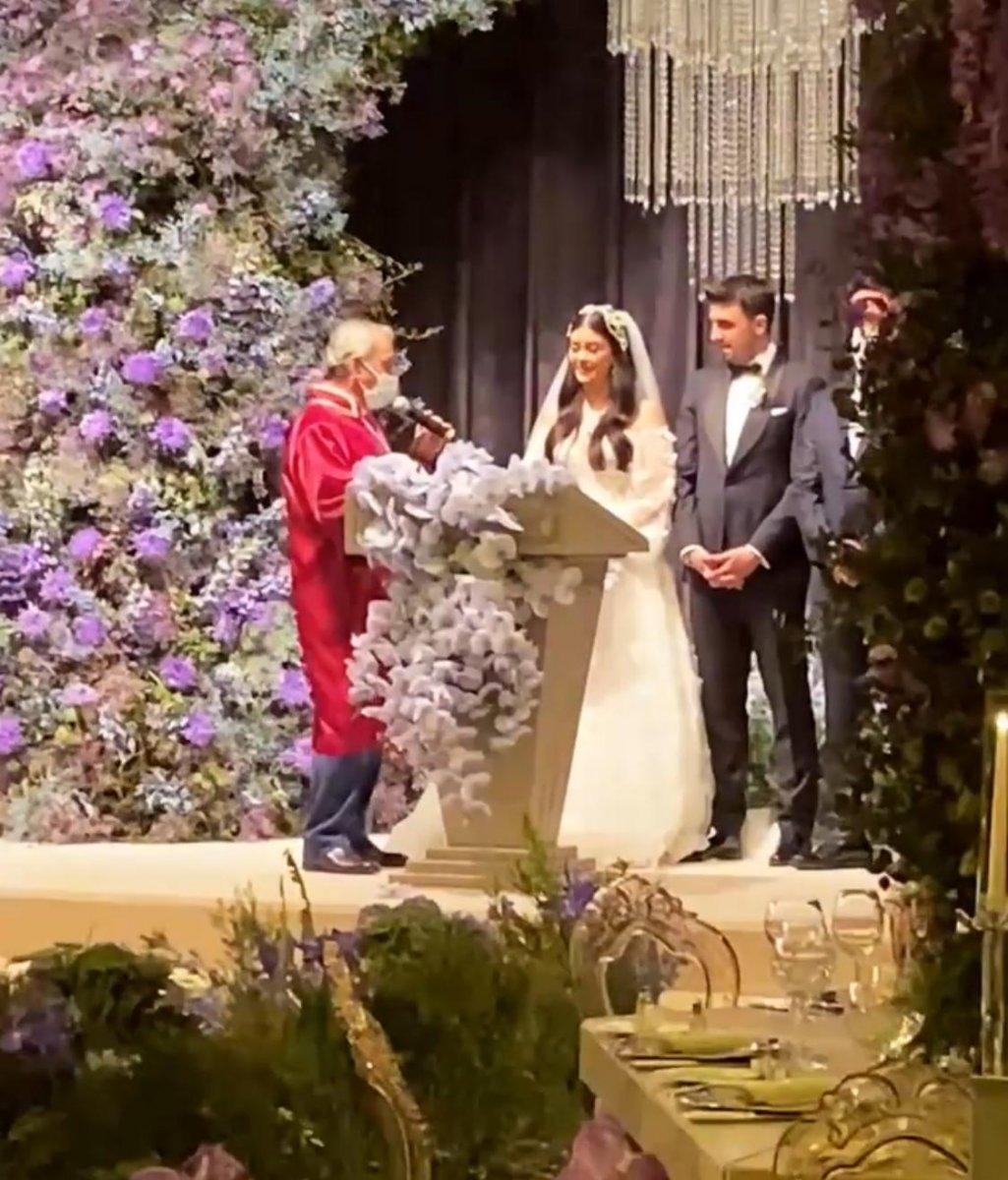 Ozan Tufan ve Rojin Haspolat evlendi #1