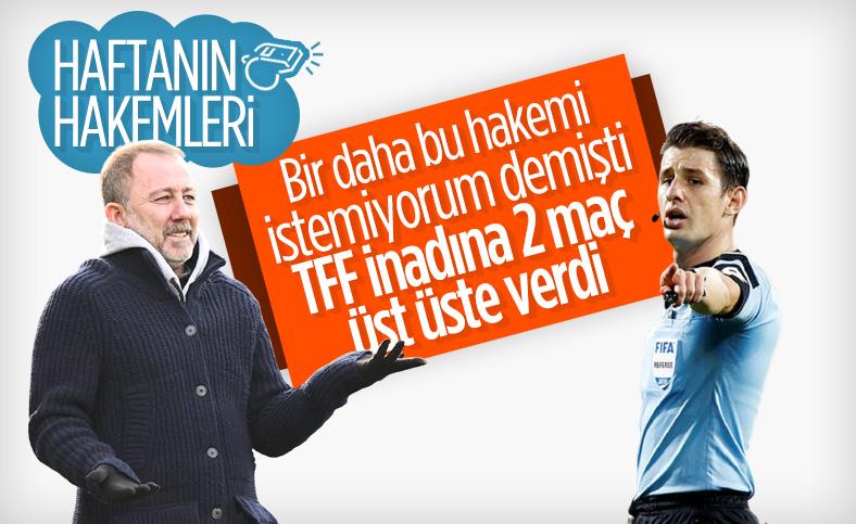 Süper Lig'de 32. haftanın hakemleri