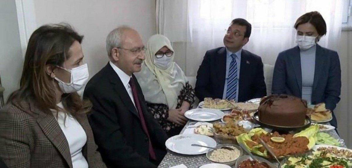 Kemal Kılıçdaroğlu ile Ekrem İmamoğlu nun ev ziyareti  #1