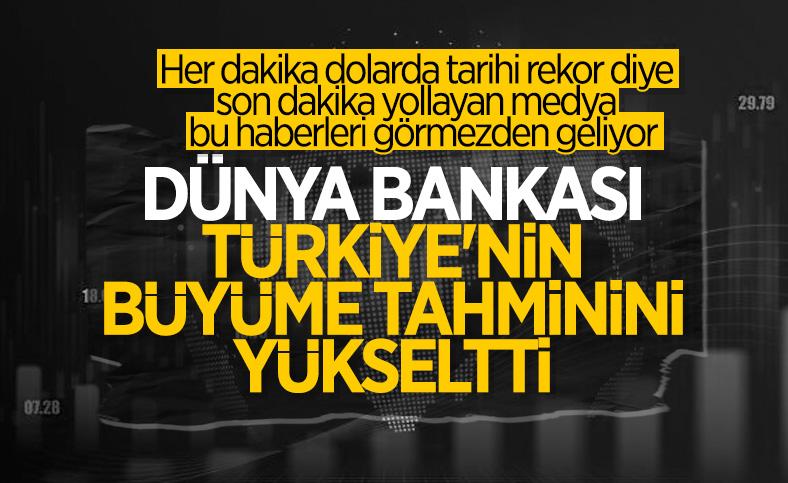 Dünya Bankası, Türkiye'nin 2021 yılı büyüme tahminini yükseltti