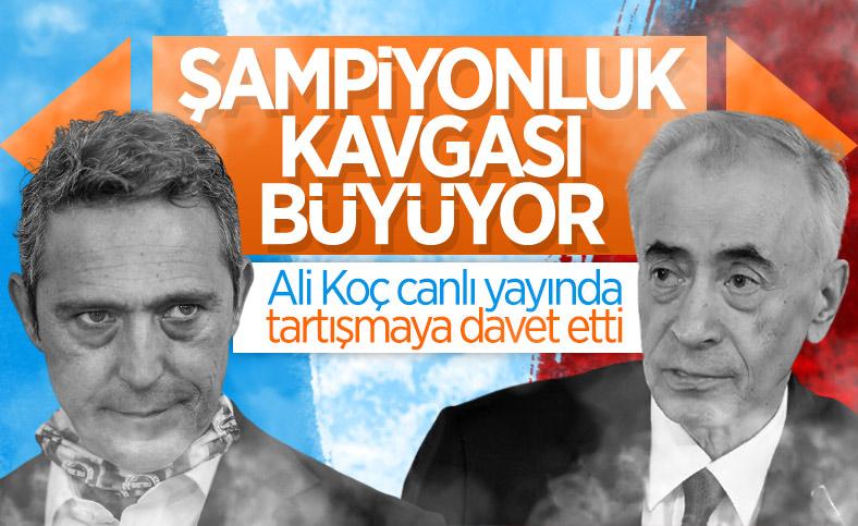 Fenerbahçe'den Galatasaray'a: İsterseniz GS TV'de tartışalım