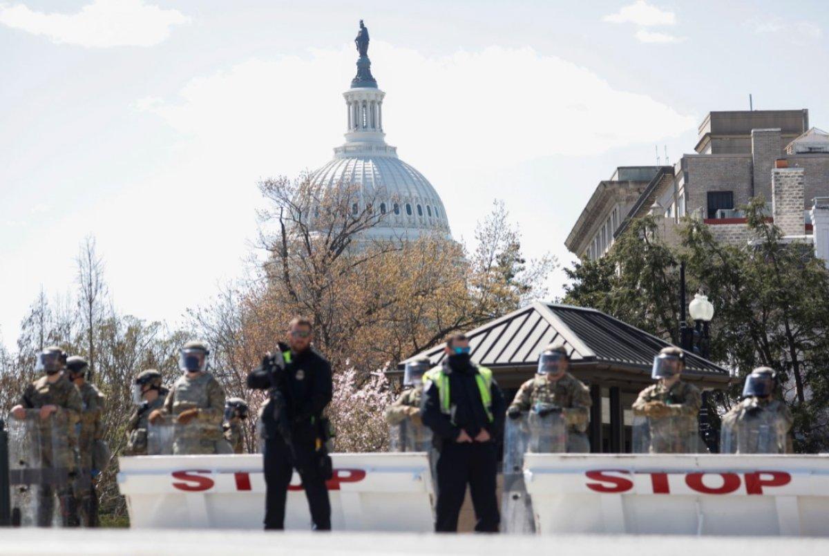 ABD Kongre Binası kapatıldı #3
