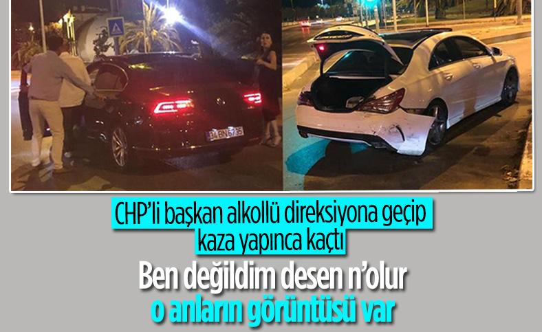 CHP'li belediye başkanı Ali Kılıç, alkollü araç kullanırken kaza yaptı
