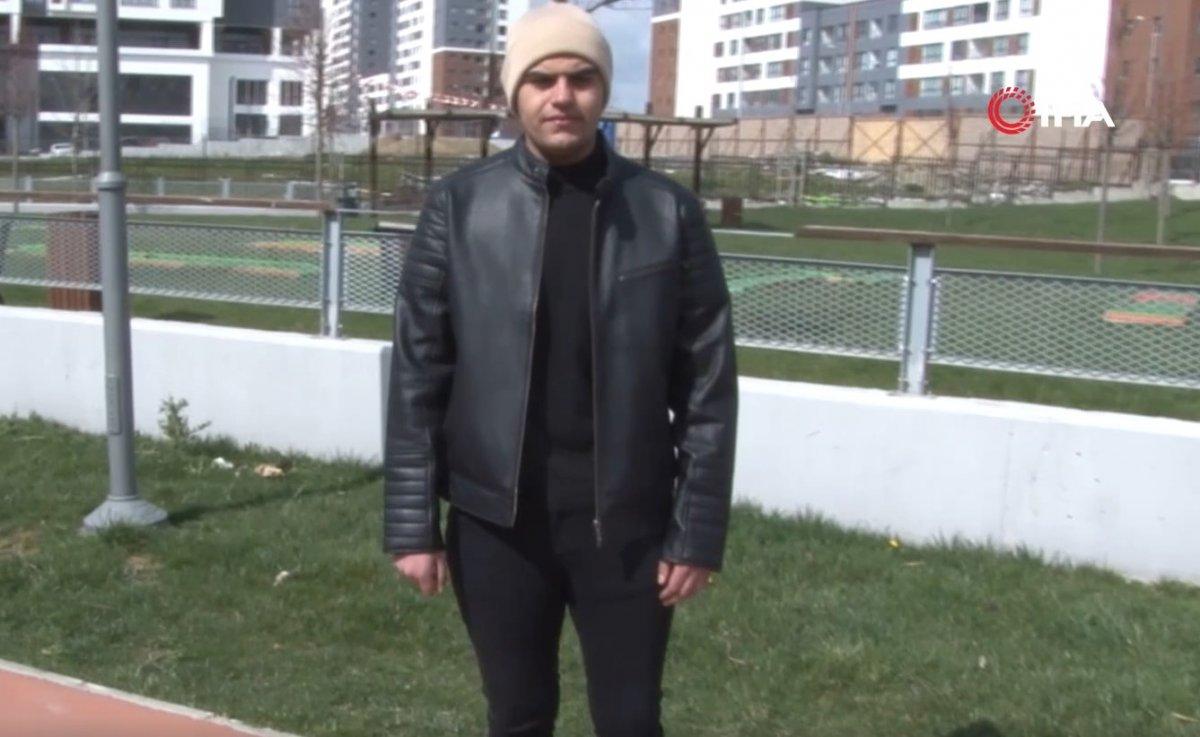 Başakşehir de sevgilisi terk edince 6 ayda 81 kilo verdi #3