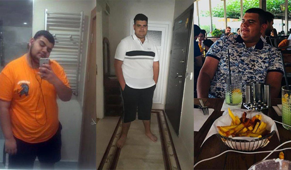 Başakşehir de sevgilisi terk edince 6 ayda 81 kilo verdi #1