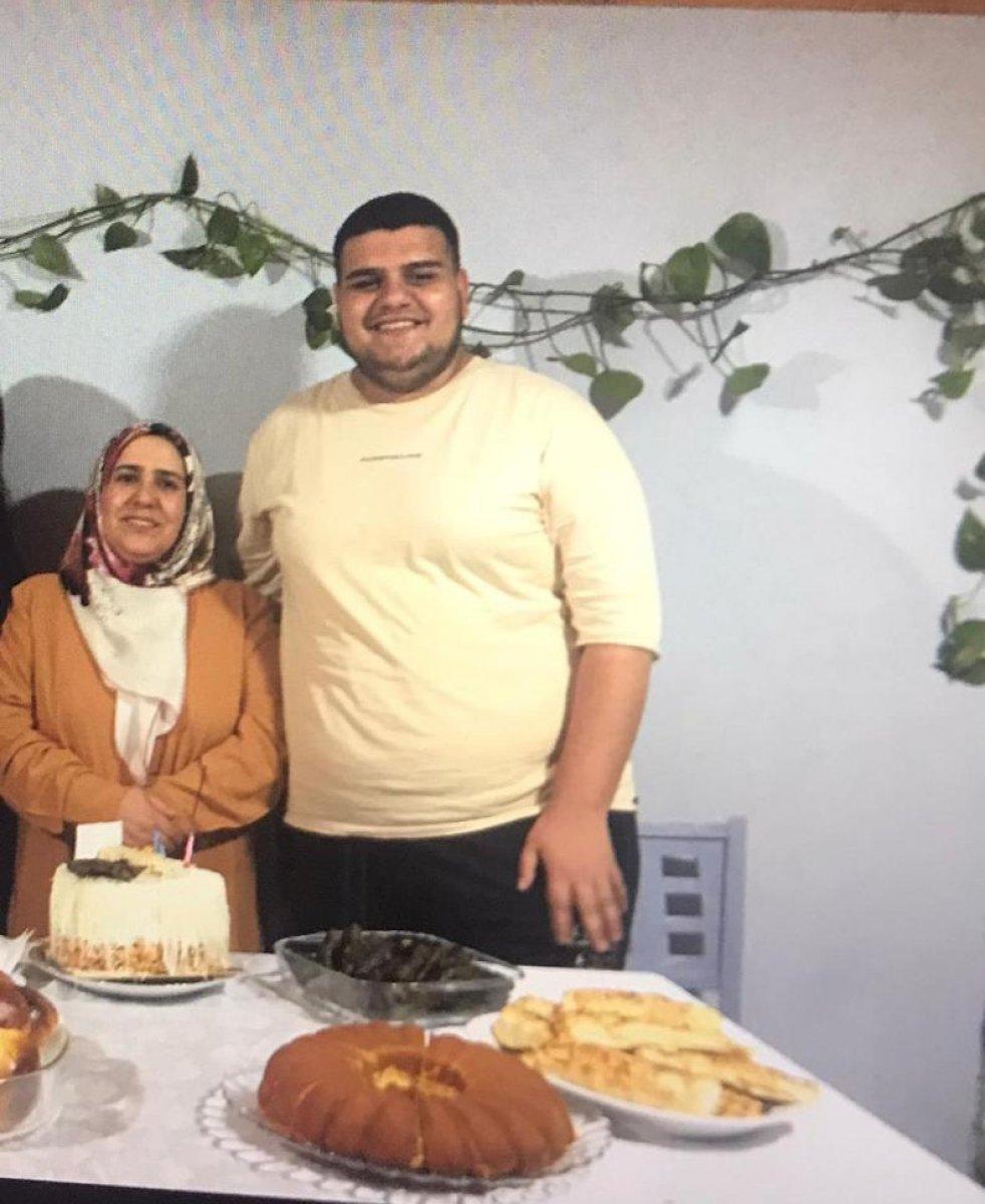Başakşehir de sevgilisi terk edince 6 ayda 81 kilo verdi #4