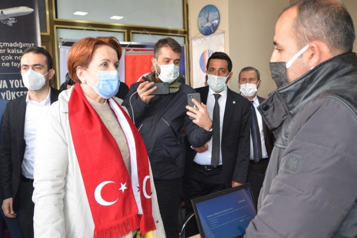 Meral Akşener, Hakkari de esnafı ziyaret etti #4