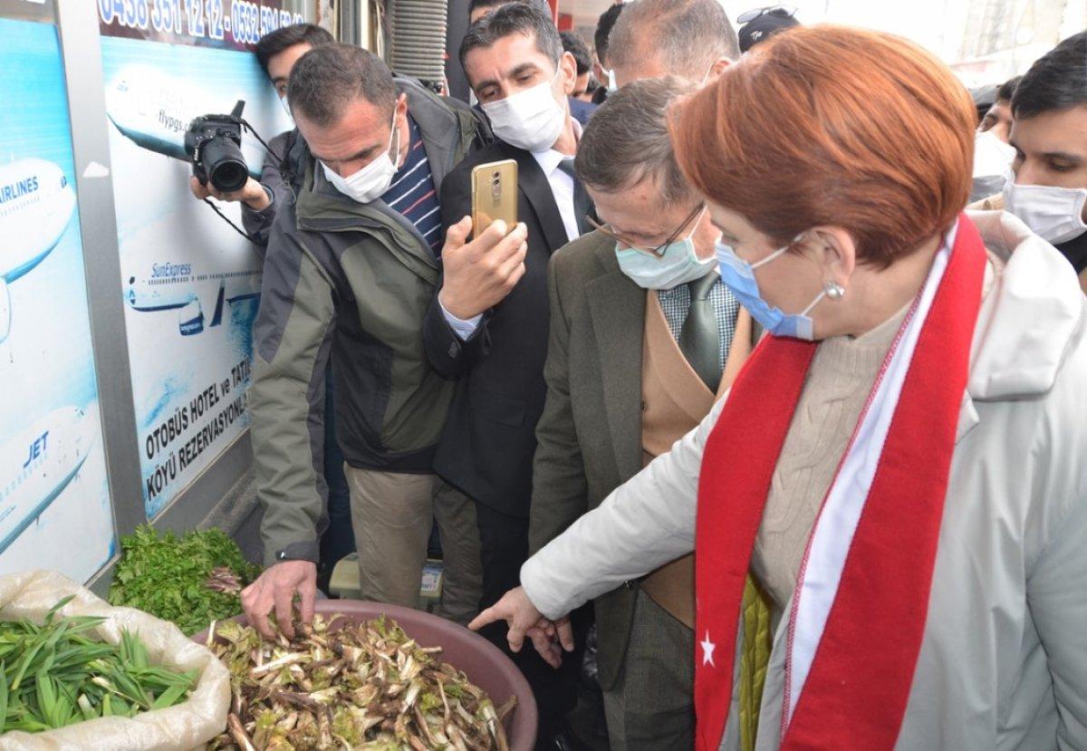 Meral Akşener, Hakkari de esnafı ziyaret etti #3