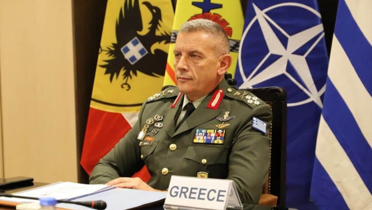 Yunanistan Genelkurmay Başkanı'ndan Türkiye'ye küstah sözler #1