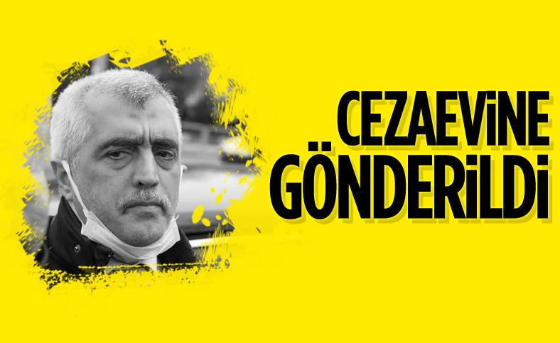 HDP'li Ömer Faruk Gergerlioğlu, cezaevine gönderildi