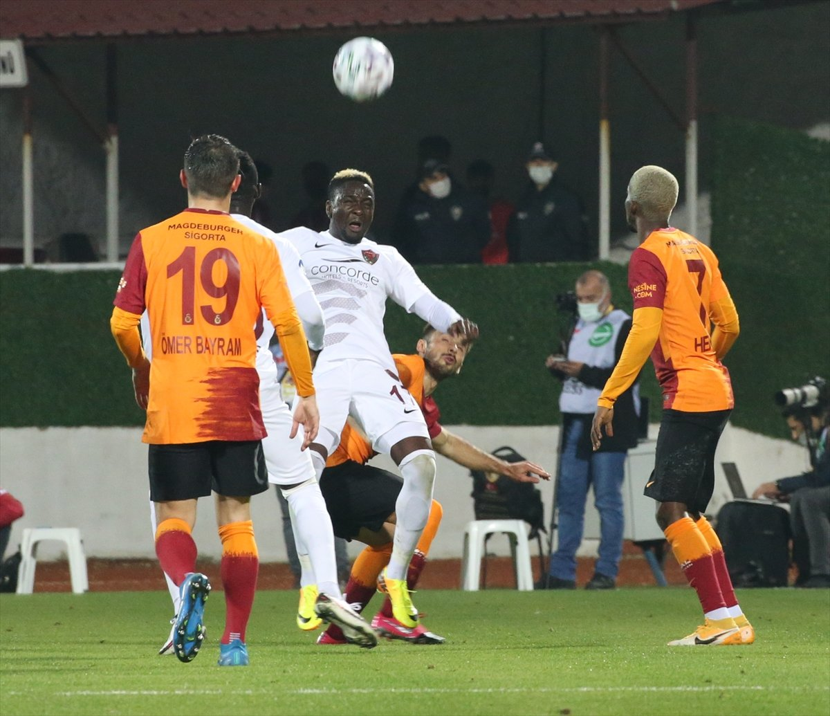 Galatasaray deplasmanda Hatayspor a 3-0 kaybetti #3
