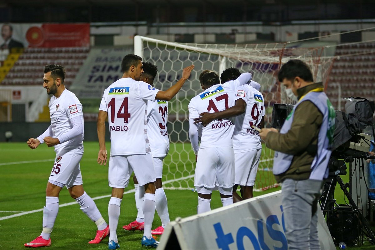 Galatasaray deplasmanda Hatayspor a 3-0 kaybetti #1