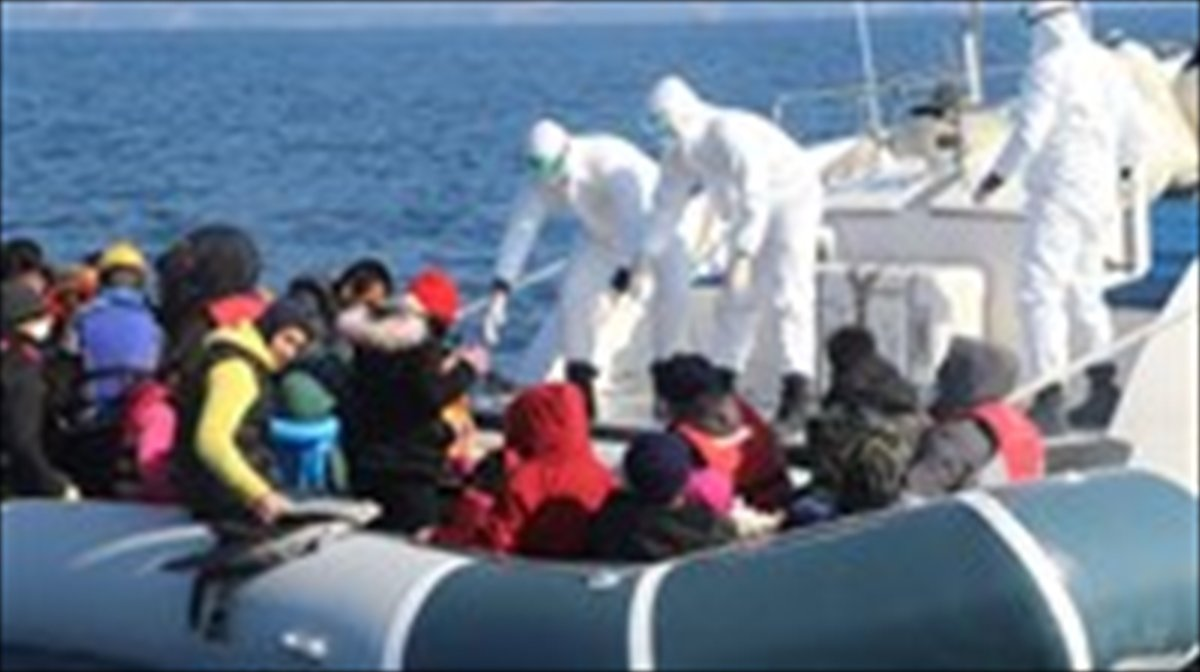Ölüme terk ettiğiniz göçmenleri biz kurtardık #6
