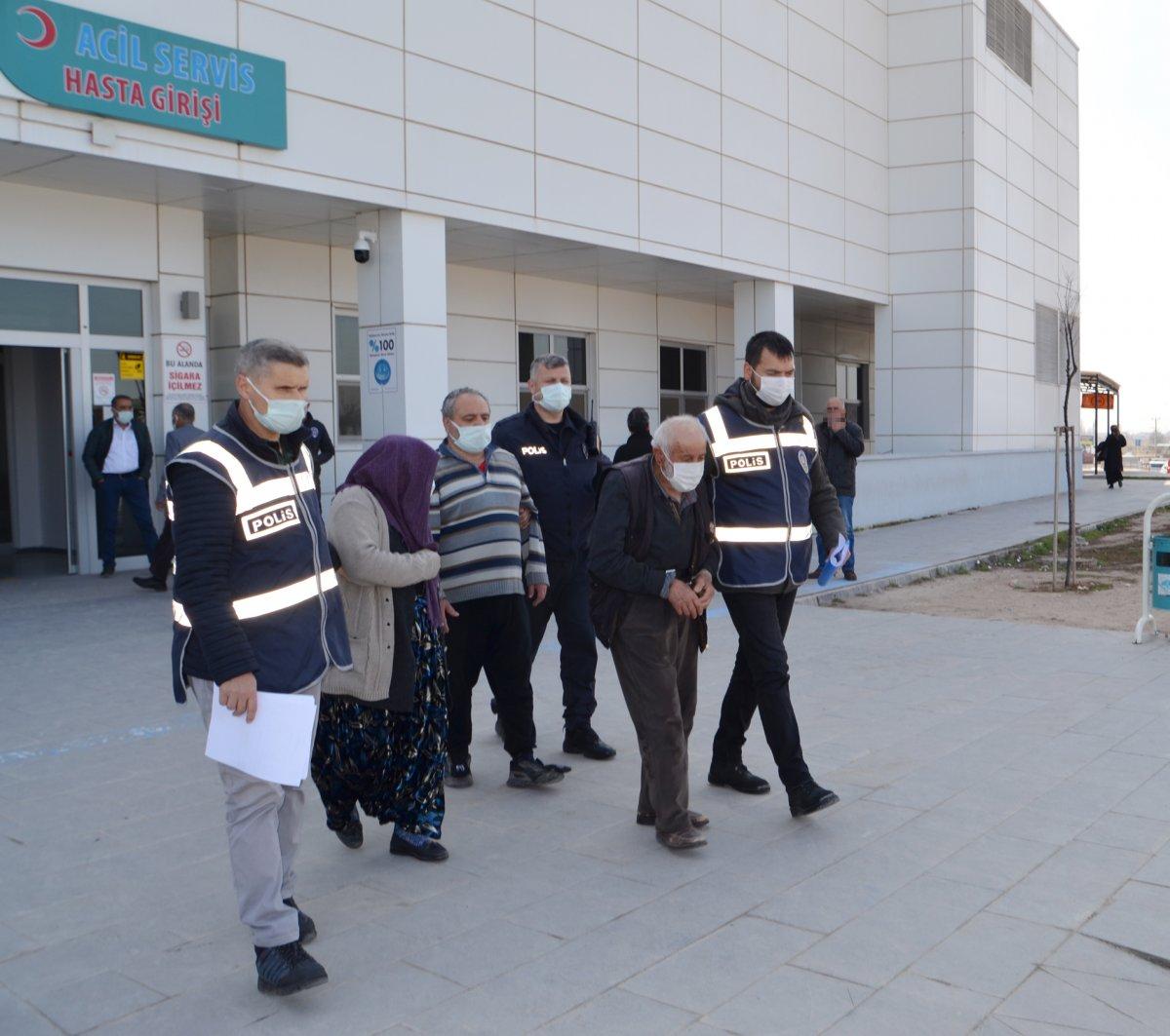 Aksaray daki miras kavgasında gelinin 4 bıçak darbesi aldığı tespit edildi #2