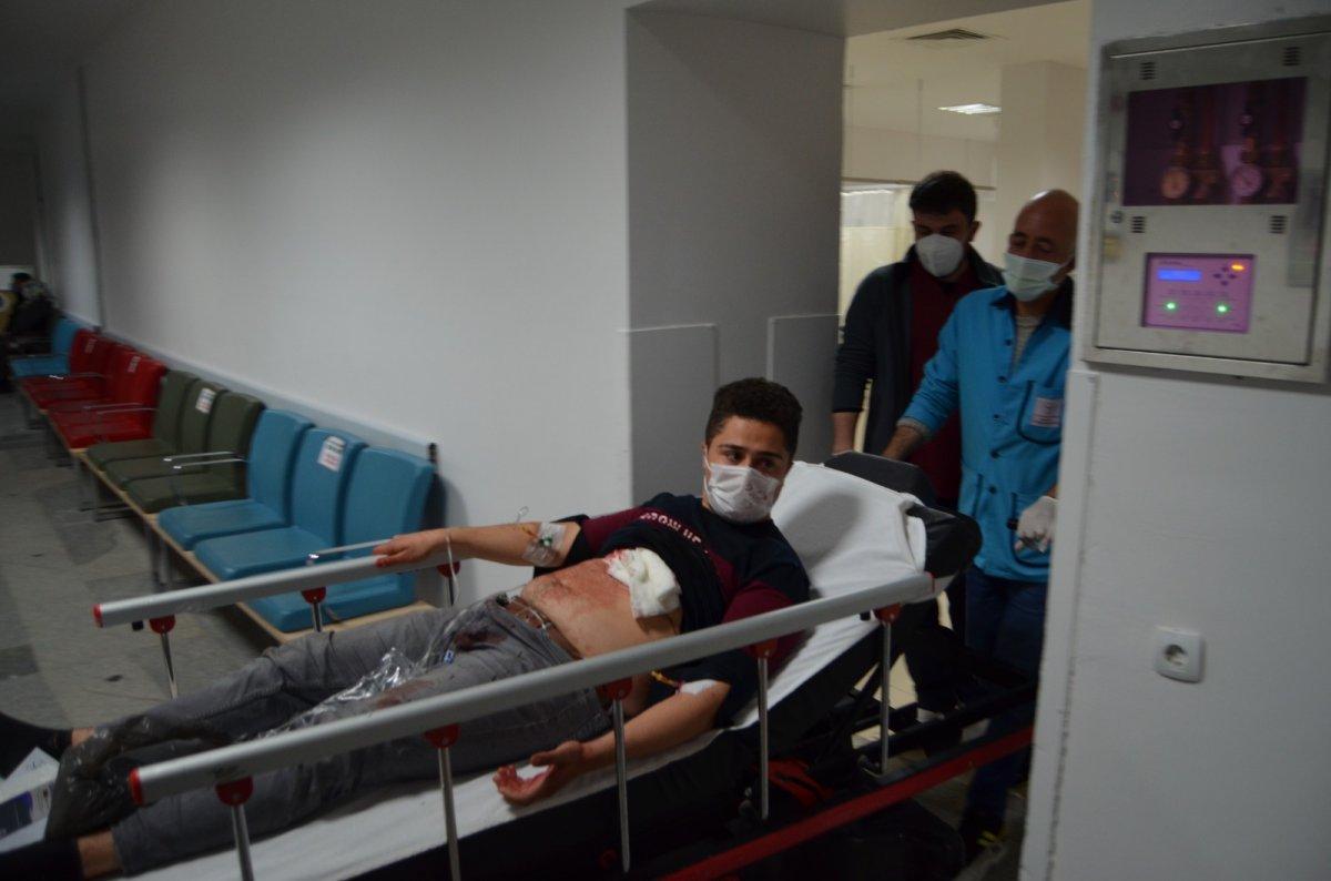 Aksaray daki miras kavgasında gelinin 4 bıçak darbesi aldığı tespit edildi #1