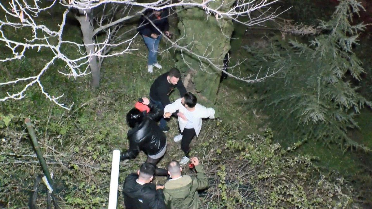 Üsküdar da yaklaşık 500 kişilik partiyi polis bastı #8