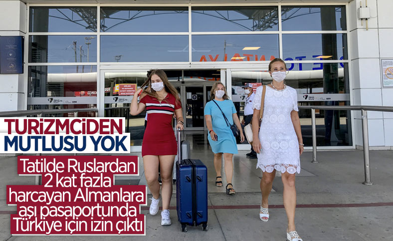 Aşı pasaportu olan Alman turistler, Türkiye'de tatil yapabilecek