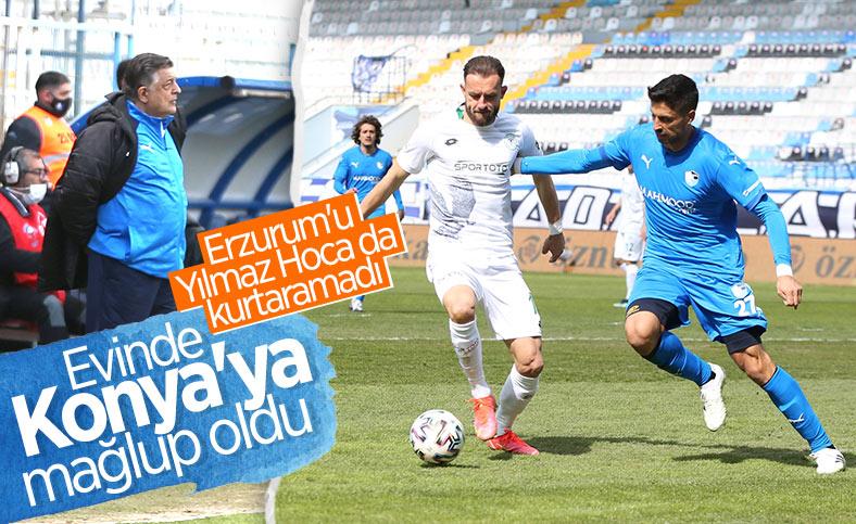 Konyaspor deplasmanda Erzurumspor'u yendi