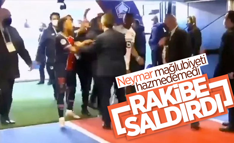 Neymar, maç sonu Djalo'ya saldırdı