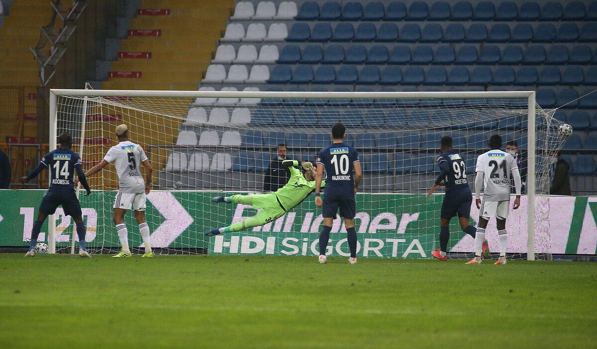 Beşiktaş deplasmanda Kasımpaşa ya mağlup oldu #1