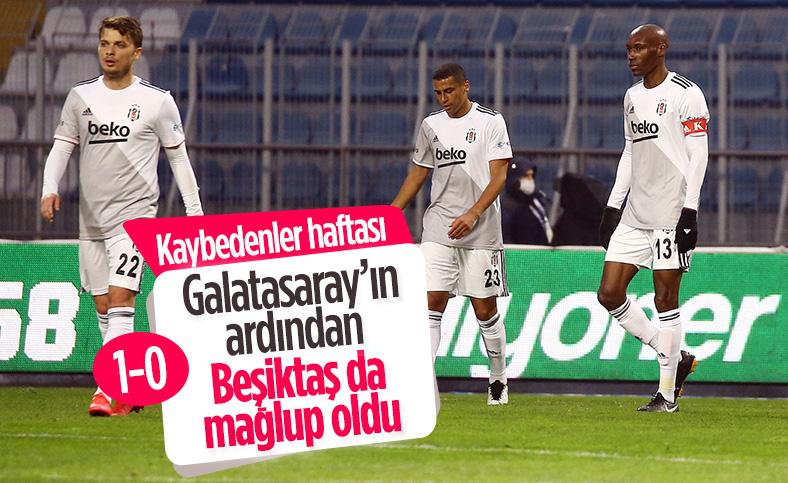 Beşiktaş deplasmanda Kasımpaşa'ya mağlup oldu