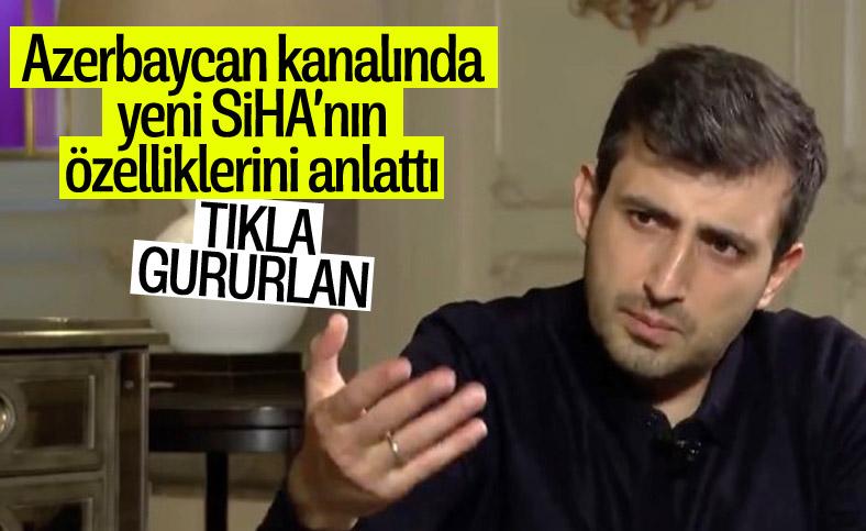 Selçuk Bayraktar, Azerbaycan kanalında TB3'ü anlattı