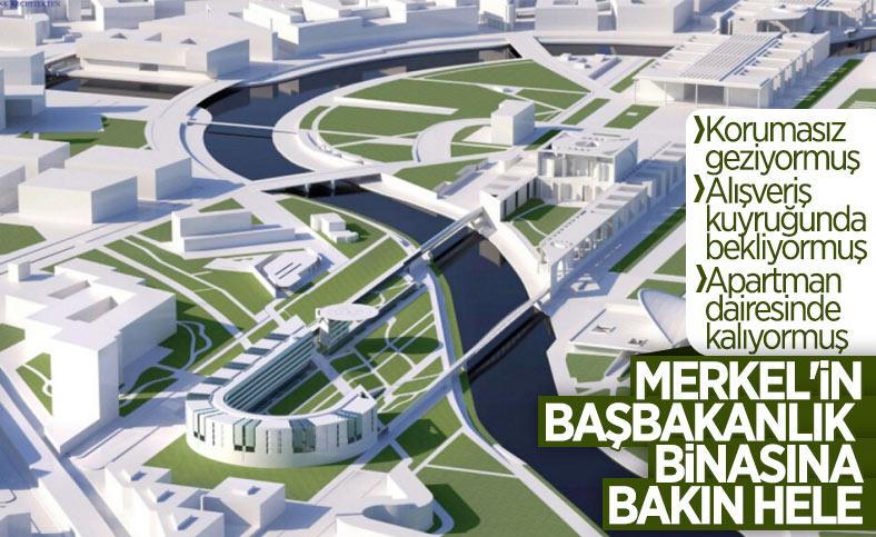 Almanya'da Başbakanlık binasının genişletilmesi kararı tepki çekti