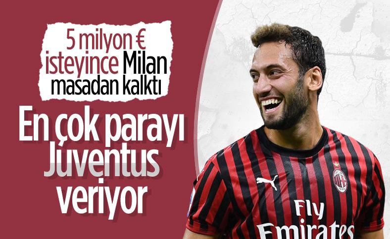 Juventus, Chelsea ve Arsenal Hakan Çalhanoğlu için yarışta