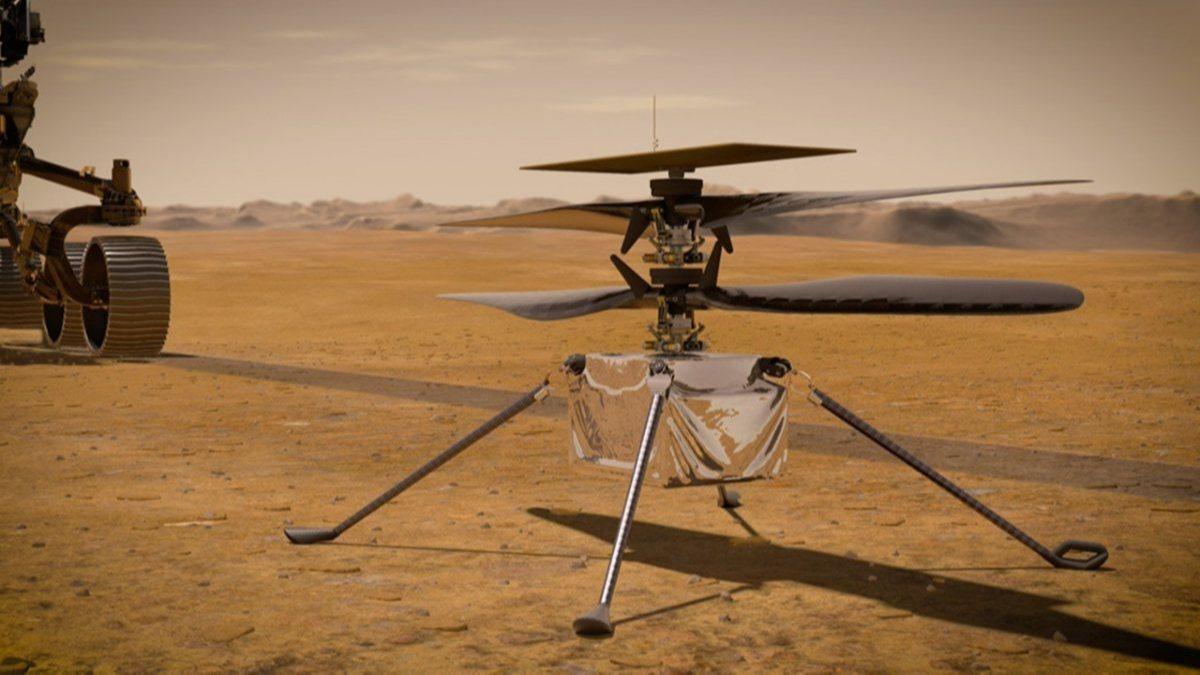 Mars helikopteri Ingenuity, uçuş için yüzeye yerleştirildi
