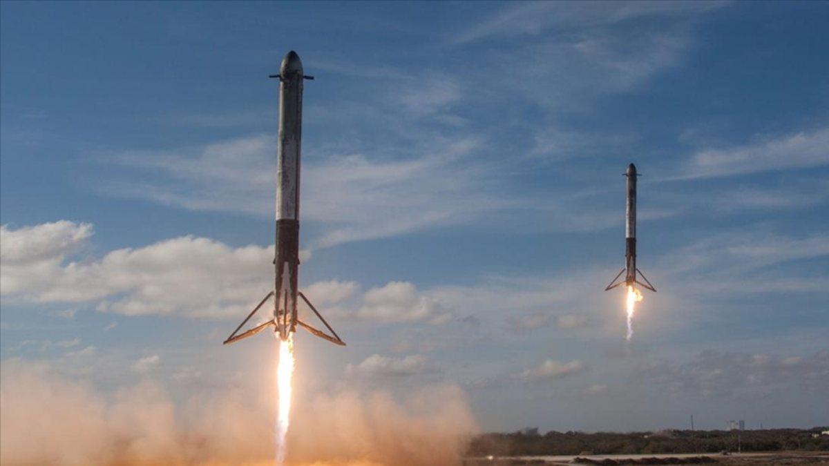 SpaceXin fırlattığı Falcon 9 roketinin parçası, Washingtondaki tarlaya düştü